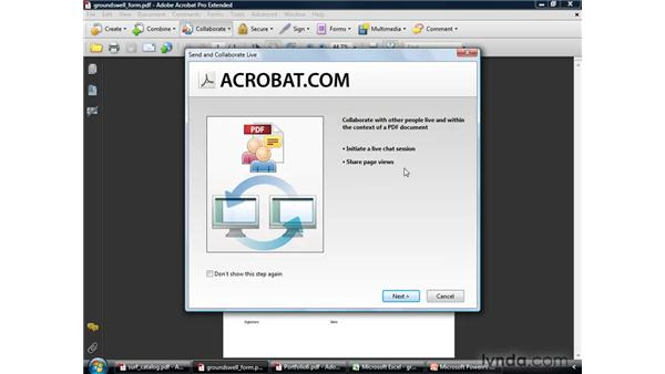 Workflow for business and technical professionals: Acrobat 9 Pro Getting Started