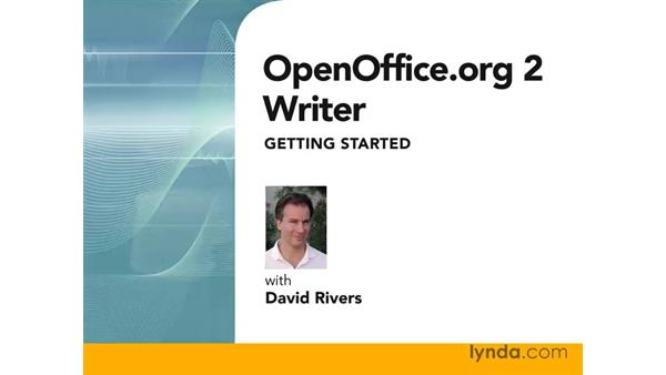 Welcome: OpenOffice.org 2 Writer Getting Started