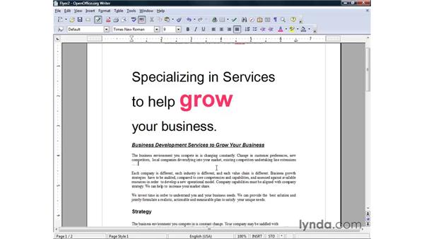 Undo, Redo, and Repeat: OpenOffice.org 2 Writer Getting Started