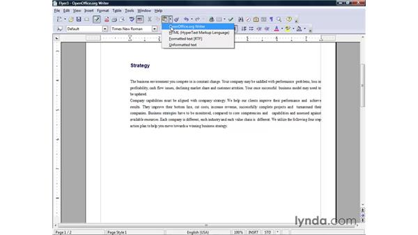 Copying, pasting, and moving text: OpenOffice.org 2 Writer Getting Started