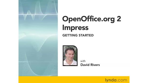 Welcome: OpenOffice.org 2 Impress Getting Started