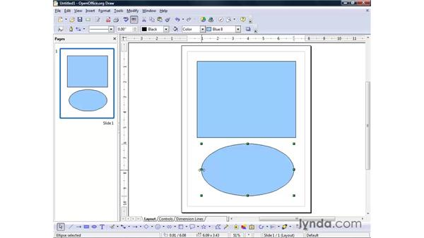 Drawing basic shapes: OpenOffice.org 2 Draw Getting Started