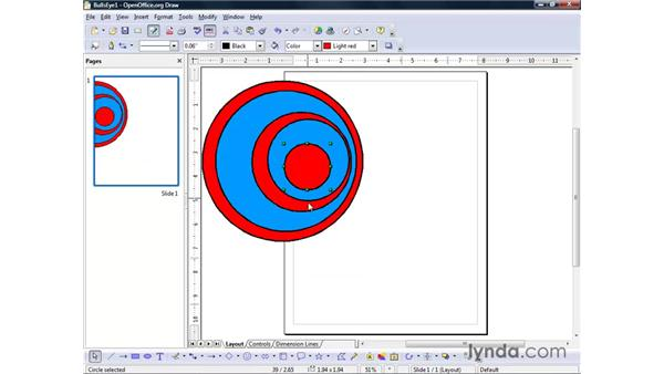 Selecting and manipulating objects: OpenOffice.org 2 Draw Getting Started