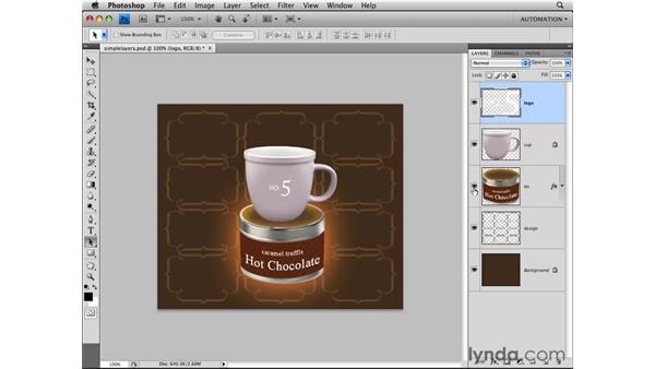 Understanding layers: Photoshop CS4 Essential Training
