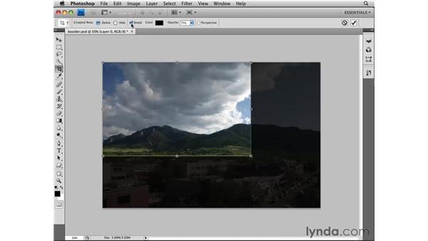 Cropping: Photoshop CS4 Essential Training