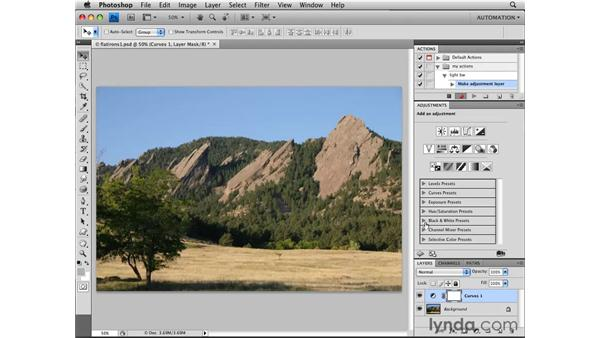 Creating an action: Photoshop CS4 Essential Training