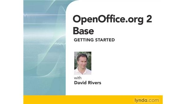 Goodbye: OpenOffice.org 2 Base Getting Started
