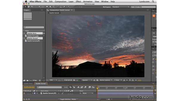 The importance of reference material: After Effects CS4 Essential Training