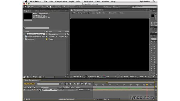 What is a composition?: After Effects CS4 Essential Training