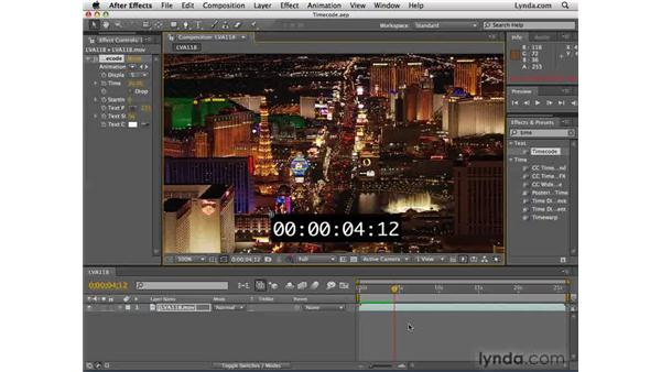 Understanding timecode: After Effects CS4 Essential Training