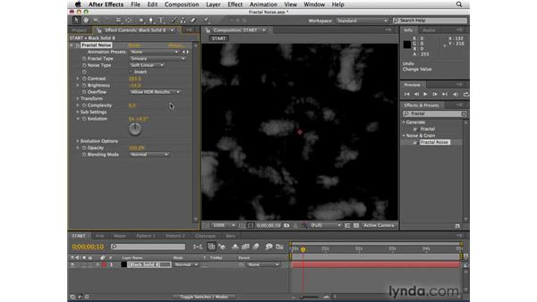 Creating infinite patterns and textures: After Effects CS4 Essential Training