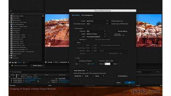 Cropping on output: After Effects Hidden Gems