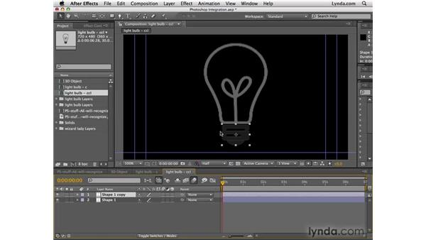 Using After Effects and Photoshop: After Effects CS4 Essential Training