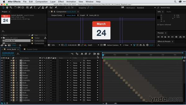 Controlling playback of sequenced layers with time controls: After Effects Guru: Keyframe Assistants