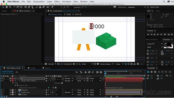 Creating expressions for type animation: After Effects Guru: Keyframe Assistants