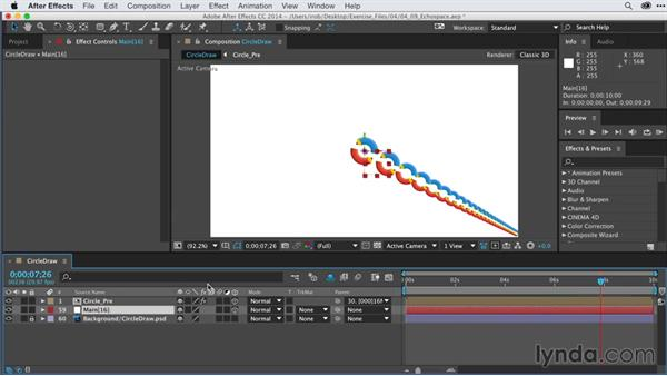 Repeating graphics with Trapcode Echospace: After Effects Guru: Keyframe Assistants