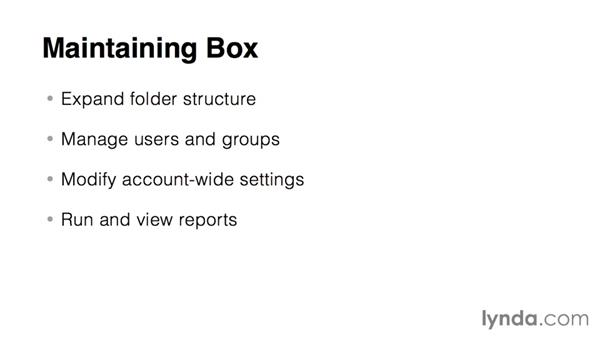 Box administration: The essentials: Up and Running with Box Administration