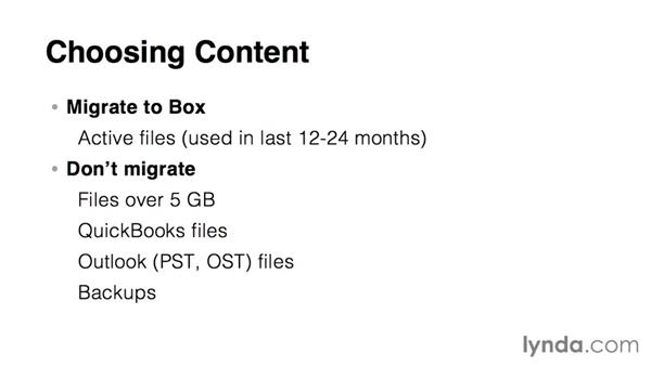 Planning content migration: Up and Running with Box Administration