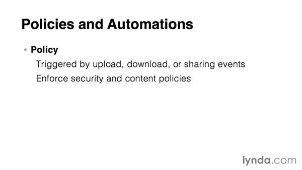 Box policies and automations: The basics: Up and Running with Box Administration
