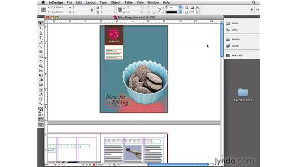 Zooming and magnifying: InDesign CS4 Essential Training