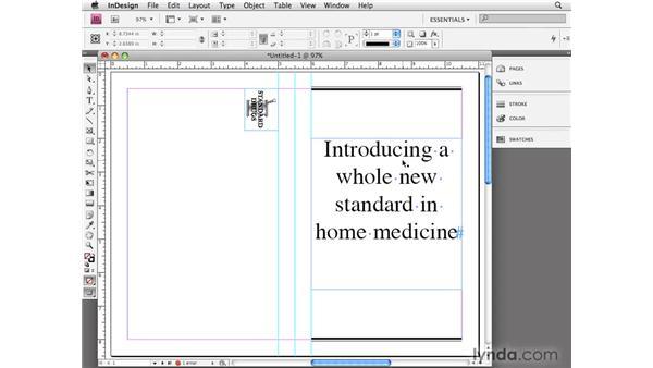 Converting QuarkXPress files: InDesign CS4 Essential Training