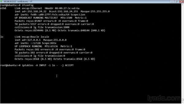 interface graphique pour le firewall netfilter lptables sous linux