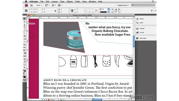 Selecting objects: InDesign CS4 Essential Training