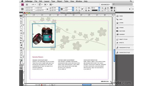 Duplicating objects: InDesign CS4 Essential Training