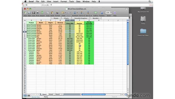 Adding Microsoft Word and Excel tables: InDesign CS4 Essential Training