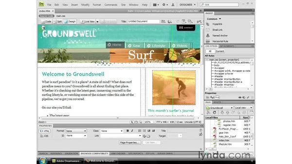 : Dreamweaver CS4 Essential Training