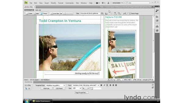 Setting a default browser: Dreamweaver CS4 Essential Training