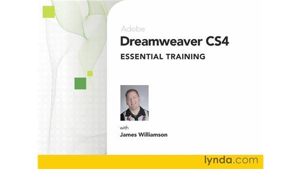 Goodbye: Dreamweaver CS4 Essential Training