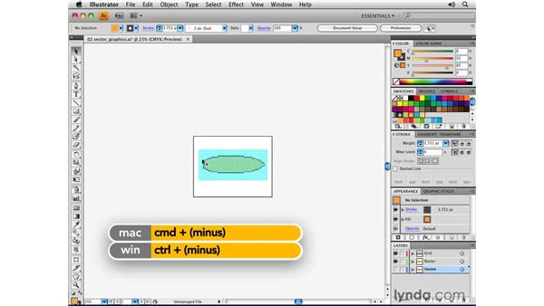 What are vector graphics?: Illustrator CS4 Essential Training