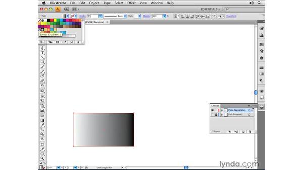 Fill and Stroke attributes: Illustrator CS4 Essential Training