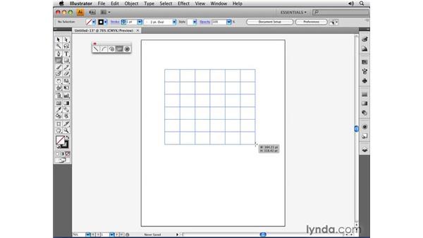 Drawing open-path primitives: Illustrator CS4 Essential Training