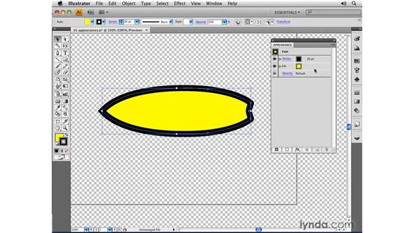 Targeting object attributes: Illustrator CS4 Essential Training