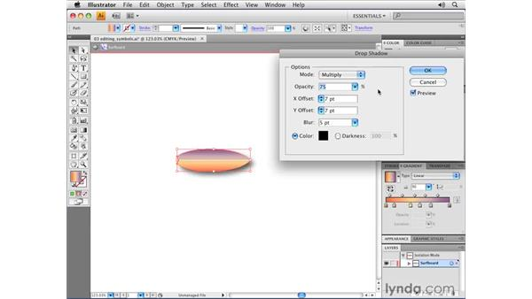 Editing symbols: Illustrator CS4 Essential Training