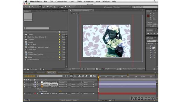 Overview of After Effects CS4: After Effects CS4 Getting Started