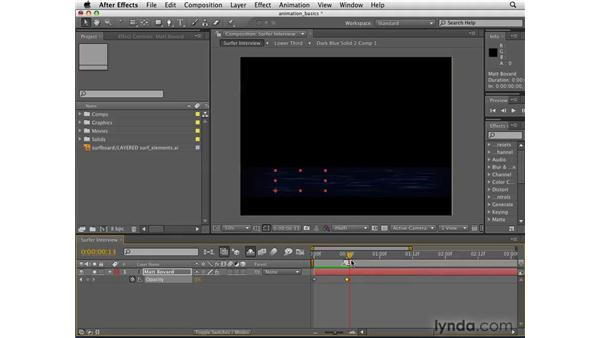 Animation essentials: After Effects CS4 Getting Started