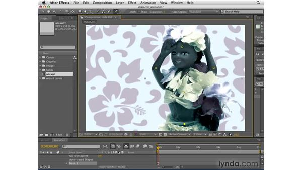 Animating characters: After Effects CS4 Getting Started