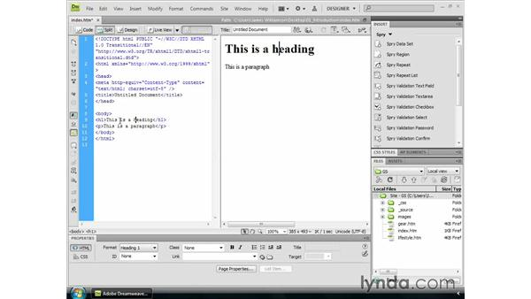 What is Dreamweaver?: Dreamweaver CS4 Getting Started