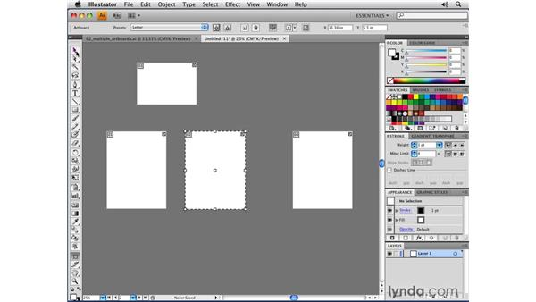 Using multiple artboards with Bleed Support: Illustrator CS4 New Features
