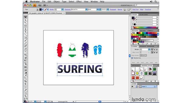 The new Graphic Styles behavior: Illustrator CS4 New Features
