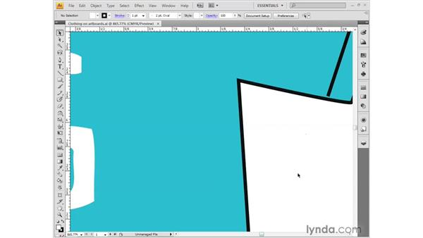 Getting around the Illustration window: Illustrator CS4 Getting Started