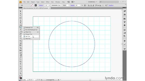 Starting a drawing: Illustrator CS4 Getting Started