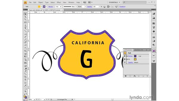 Filling and stroking: Illustrator CS4 Getting Started
