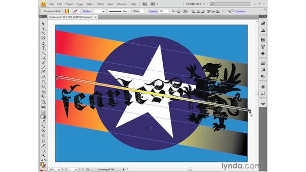 Working with gradients: Illustrator CS4 Getting Started