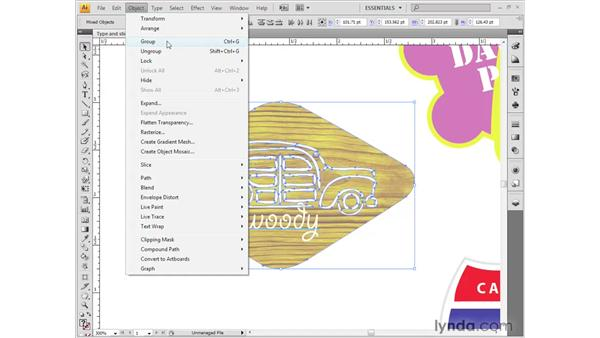 Selecting and isolating paths: Illustrator CS4 Getting Started