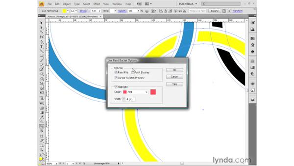 Live Paint: Illustrator CS4 Getting Started