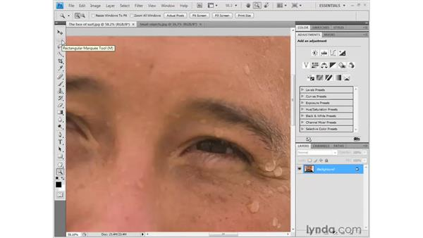 Getting around in the Image window: Photoshop CS4 Getting Started